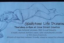 Life Drawing@Crow Street Creative