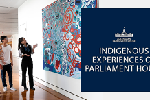Tour: 'Yeribee' - Indigenous Experiences of Parliament House - Daily 9:30am