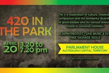 420 In The Park - Parliament House ACT