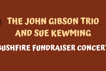 The John Gibson Trio and Sue Kewming