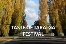 A Taste of Taralga Festival