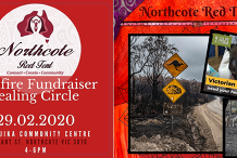 Northcote Red Tent - Bushfire Fundraiser Healing Circle  - 29/02/2020