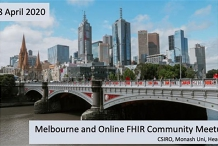 FHIR community meet up (now ONLINE only)
