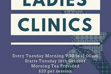 Tuesday Morning Ladies Clinic
