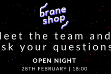 Meetup - Braneshop Information Night: come and meet the team!