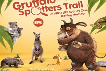 The Gruffalo at WILD LIFE Sydney Zoo