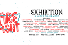 Fire Fight Exhibition - WIRES Fundraiser