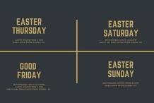 Easter Long Weekend At Recess Bar + Eats