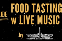 FREE FOOD TASTING WITH LIVE MUSIC