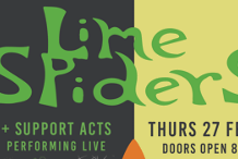 Lime Spiders - In Conjunction with Noosa Festival of Surfing