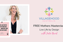 Free Mothers Masterclass: Live Life by Design