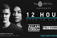 The Hatchery pres. 12 Hour OTC: Allan Morrow b2b Pollyanna