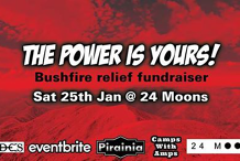 THE POWER IS YOURS! Bushfire relief fundraiser