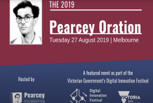 Pearcey Oration 2019