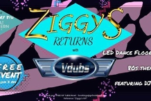 Iconic Ziggy's is BACK! ✩ Featuring Vdubs