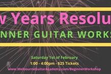 New Years Resolution Beginner Guitar Workshop