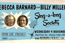 MEMO Live Streams: Rebecca Barnard & Billy Miller's Singalong