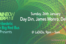 Rainbow Serpent, Tribeadelic and The Big Red Bus present: