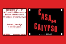 Casa Calypso (Friends__Rave) - JULY