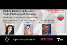 Finding Balance in Business: Health and Wellbeing with Technology