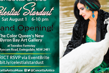 GRAND OPENING! The Color Queen's Gallery @Tooraloo Farm!