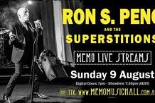 Ron Peno & The Superstitions - MEMO Live Streams