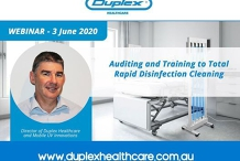 Webinar: Auditing and Training to Total Rapid Disinfection