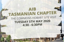 AIB Tasmanian Chapter - The Commons Hobart Site Visit