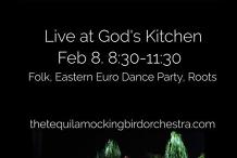 The Tequila Mockingbird Orchestra at God's Kitchen - Mornington