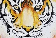 Acrylic Painting - Paint your very own TIGER.