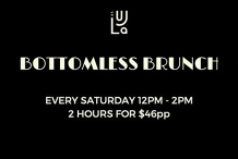 $46pp Bottomless Brunch