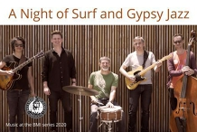 """Music at the BMI presents """"A Night of Surf & Gypsy Jazz"""""""