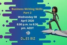 Business Writing Skills - Part 2