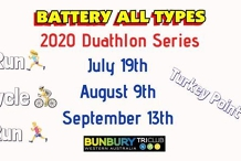 Battery All Types Duathlon Series 2020 Event 2