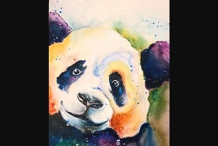 Paint and Sip Class - Peaceful Panda