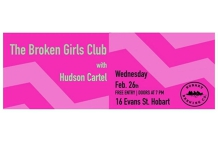 The Broken Girls Club - Single Launch | Hudson Cartel