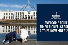 Book Your Visit to Australian Parliament House - 9 to 29 November 2020