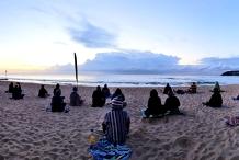 Making Meditation Mainstream: Free Beach Meditation Session Wanda Beach  Cronulla
