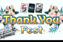 Thank You Fest - Weiss Schwarz