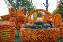 Griffith Spring Fest - Citrus Sculptures