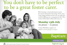 Foster Care Virtual Information Session - Tasmania