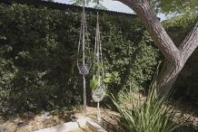 Make a Macramé Plant-Hanger
