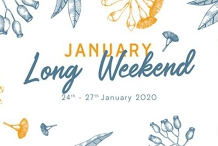 January Long Weekend!