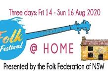 Sydney Folk Festival @Home