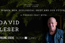 Women, Men, Ecological Grief and Our Future: A Fireside Chat with David Leser