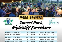 City of Darwin's Band in the Park - Sunday Series