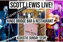 Live and Acoustic Sunday Session at Kings Bridge!