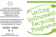 Writing Instruments Recycling Program