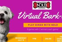 July Virtual Bark-o (Bingo) with No Dog Left Behind
