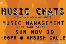 MusicChat - Music Management w Jane Slingo